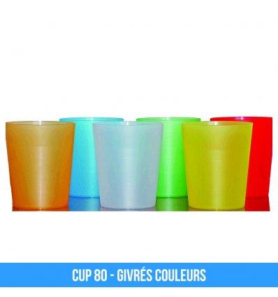 Cup 80 Gobelet personnalisable reutilisable