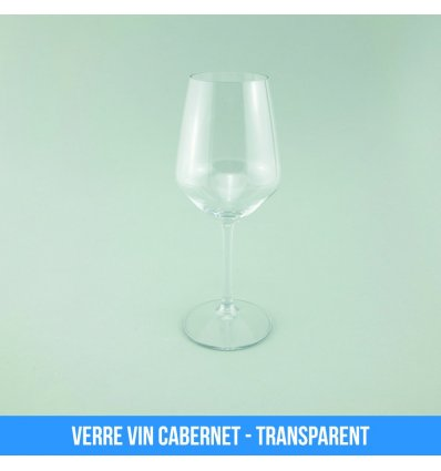 Verre Vin Cabernet