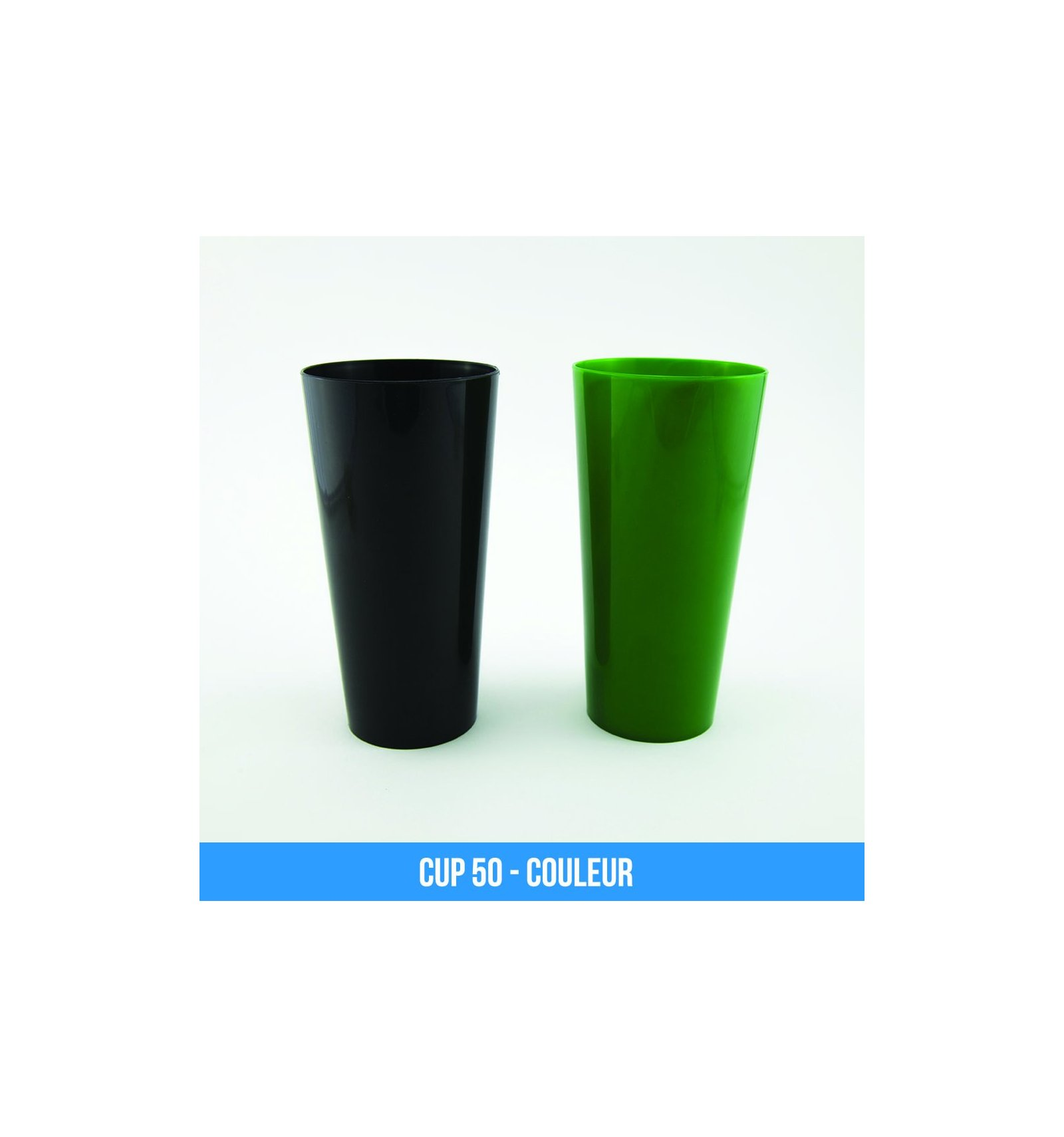 Faire Des Gobelets Personnalisés cup 50 (50cl) - gobelets réutilisables personnalisables