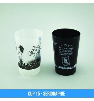 Cup 15 - Gobelet personnalisé Café